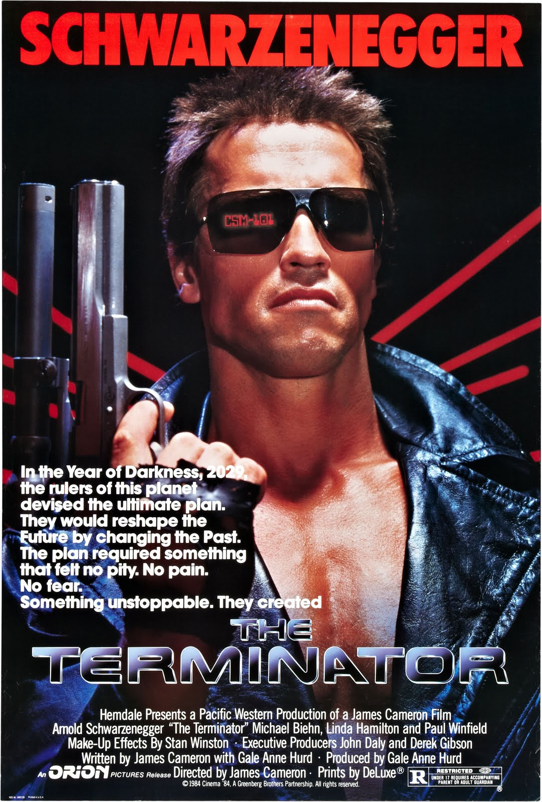 Popsiculture 80s Movies The Terminator 1984