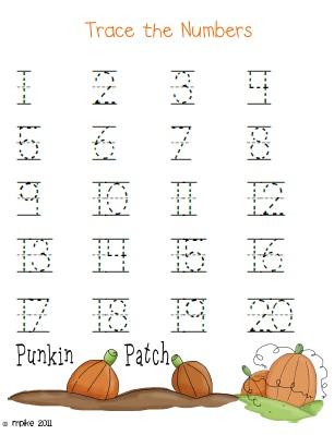 Kindergarten Homework Sheets Printable