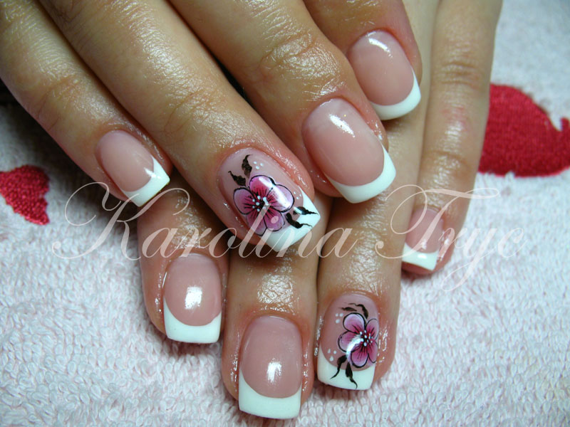 accesories: Rebalance - Natural Nails Uv Gel overlay - french + one ...