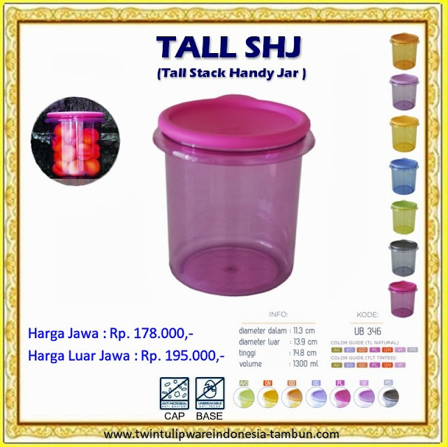 Tall Stack Handy Jar - SHJ Tulipware 2013