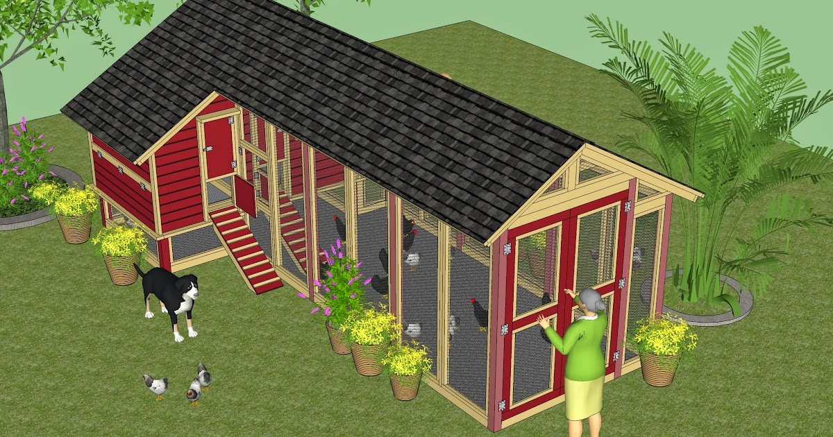 Hen 39 s chicken coop plans for 9 chickens for Chicken coop designs for 3 chickens