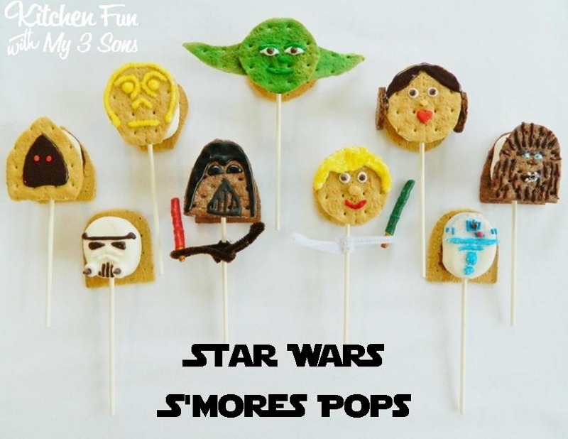 Star Wars S'mores...The Full Collection! - Kitchen Fun With My 3 Sons
