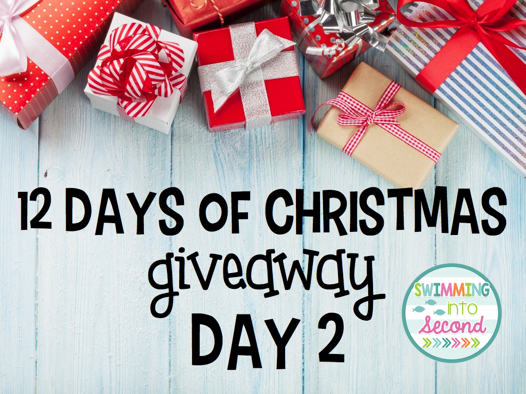 12 days of christmas giveaway day two