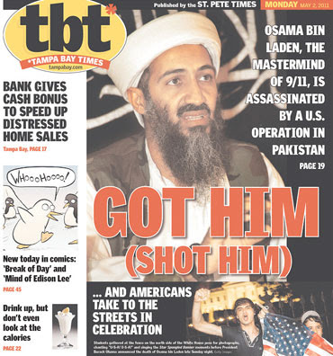 in laden died Osama Bin. death of Osama Bin Laden.