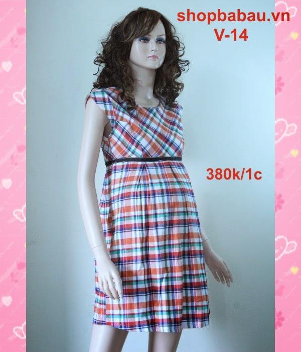 Đầm bầu giá rẻ V-14