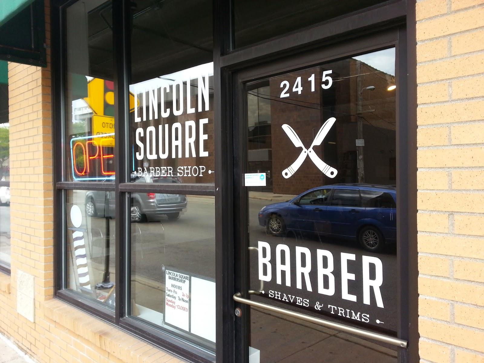 Barber Shop Chicago : Lincoln Square Barber Shop 2415 W Lawrence, Chicago