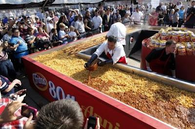 10 Makanan Yang Berukuran paling Besar Di dunia