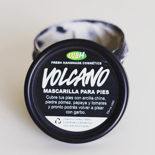 Volcano Lush mascarilla para pies