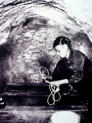 La vie à l'intérieur des tunnels de Vinh Moc