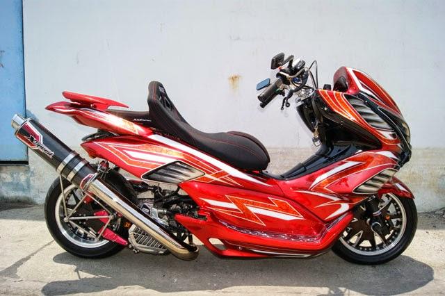 Modifikasi Honda PCX 125 Tahun 2012