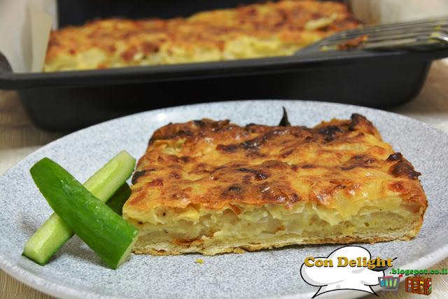 פשטידת בצל Onion pie