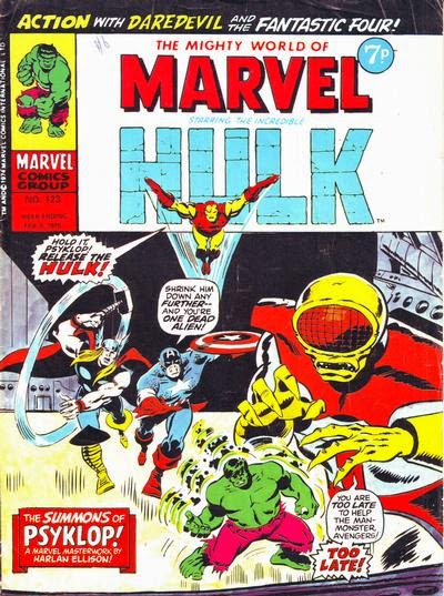 Mighty World of Marvel #123, Psyklop