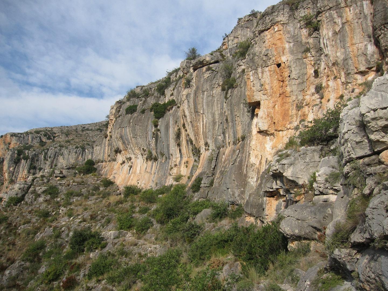 Cingles del sender dels Borregos