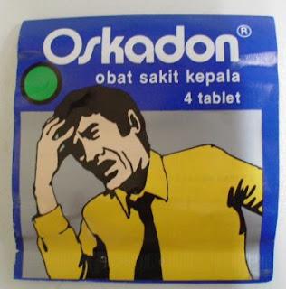 Oskadon obat Kepala Pusing Pada Anak