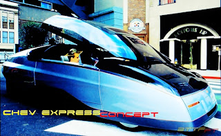 Automóveis do futuro - Chev Express