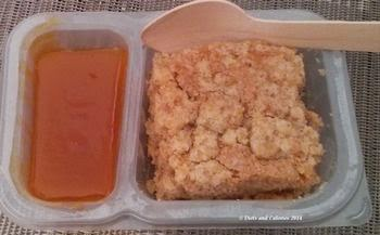 Graze snack box coconut crumble cake