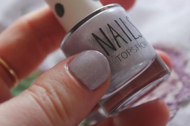 topshop nail polish notd