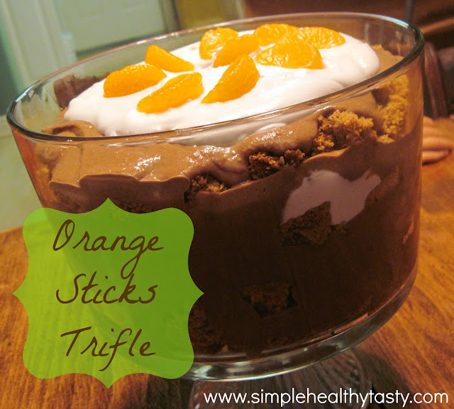 Healthy Vegan Trifle