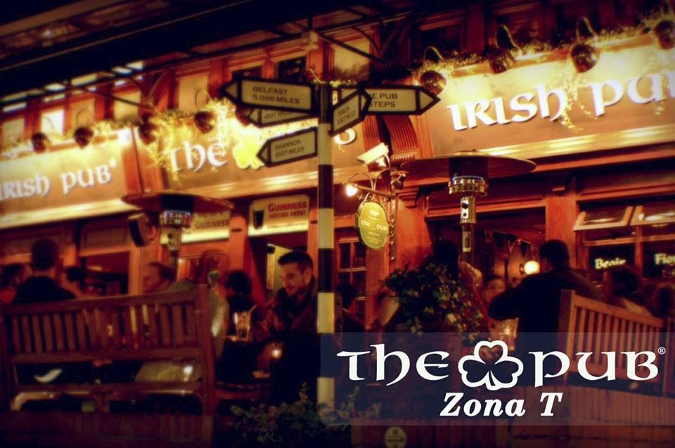 The 'not very Irish pub' in Bogotá's Zona T.