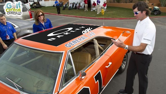 Bubba Watson Reveals New Resprayed Quot General Lee Quot Following