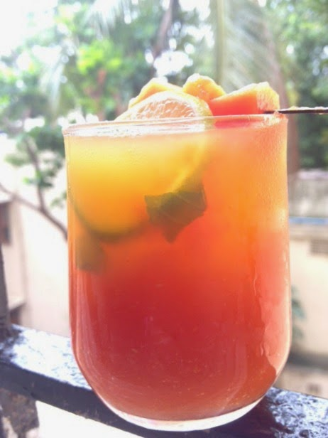 papaya mango juice1