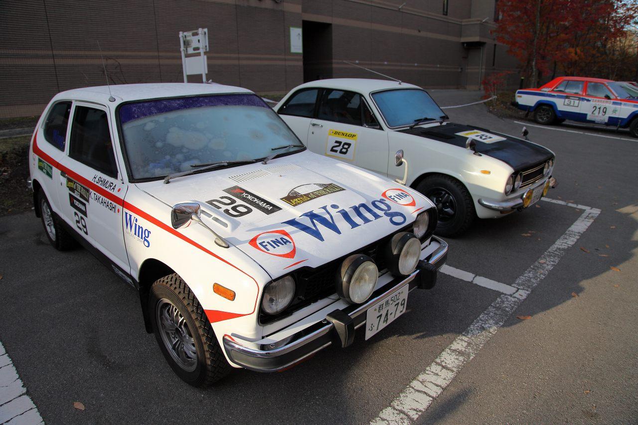 Honda Civic I, Isuzu Bellett, rajdy, wyścigi, japońskie klasyki, oldschoolowe auta, nostalgic car, old, stare samochody, kraj kwitnącej wiśni, JDM