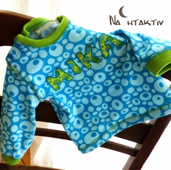 Mini Apples Ottobre Applikation Halstuch Bündchen Jersey Overlock Sticken applizieren Shirt Kam Snaps Buchstaben Äpfel Stoff Geburt Geschenk