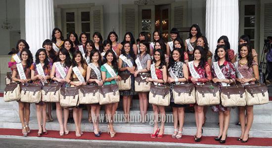 daftar lengkap finalis Miss Indonesia 2013