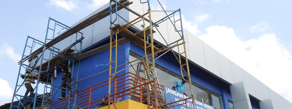 Aplikator, Jual, Aluminium, Composite, Panel, ACP, Seven, Murah, di, Bandung: http://www.dadoesteel.com/