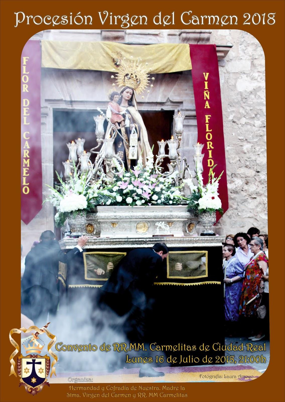 Cartel de la Virgen del Carmen 2018