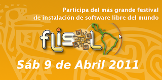 Imagen del FLISOL 2011