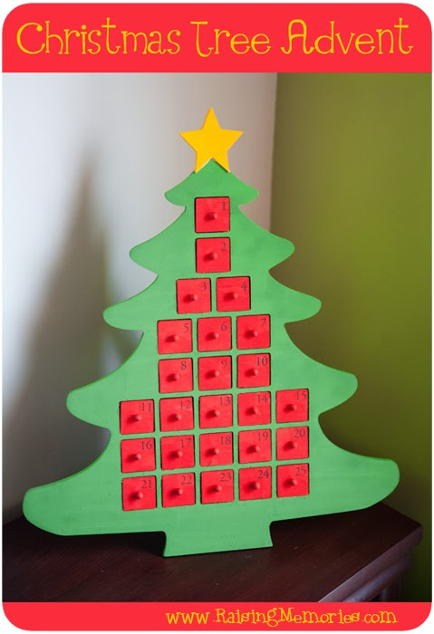 tuesday december 3 2013 - Wooden Christmas Advent Calendar