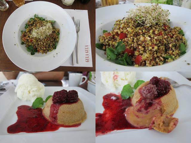 Restaurante Gula - Gula, Leblon, Rio de janeiro, quinoa, prato vegetariano, petit gateau doce de leite