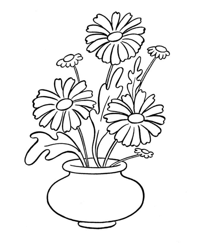 for Plantas ornamentales para colorear