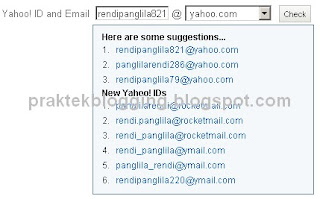 tips membuat email yahoo