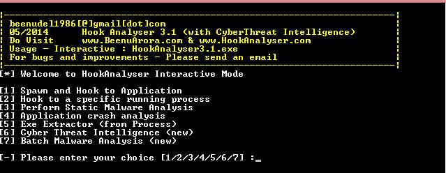 Hook Analyser v3.1