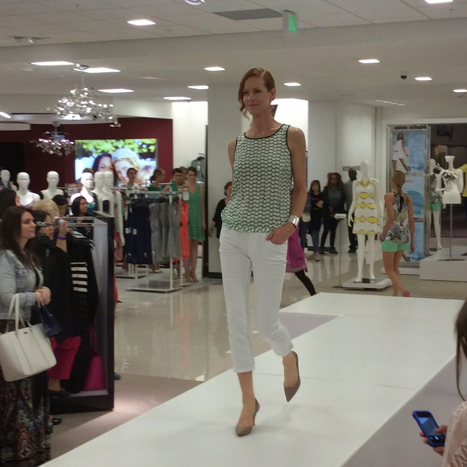 Belk Girls Night Out Galleria Dallas Cynthia Rowley Fashion Show
