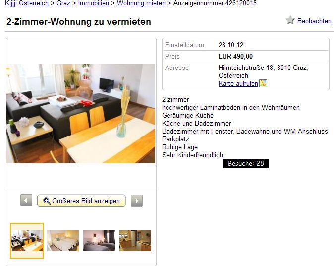2 zimmer wohnung zu vermieten. Black Bedroom Furniture Sets. Home Design Ideas
