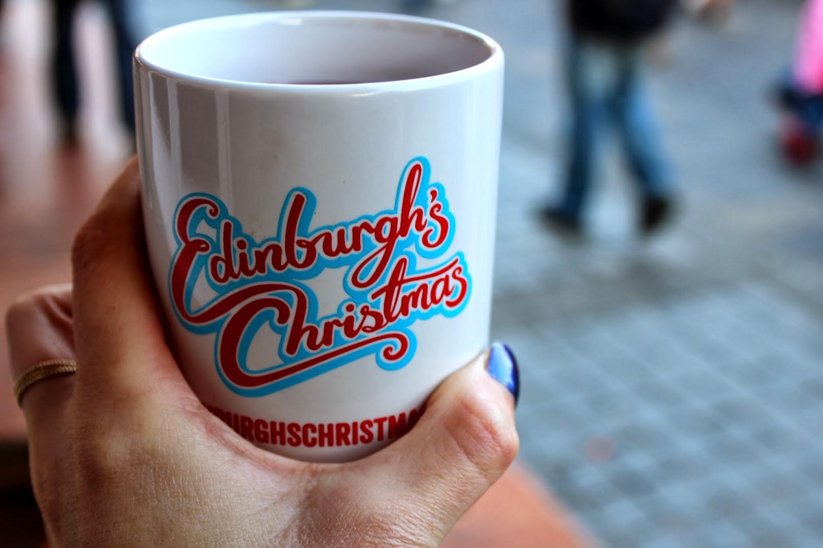 Edinburgh Christmas German Markets