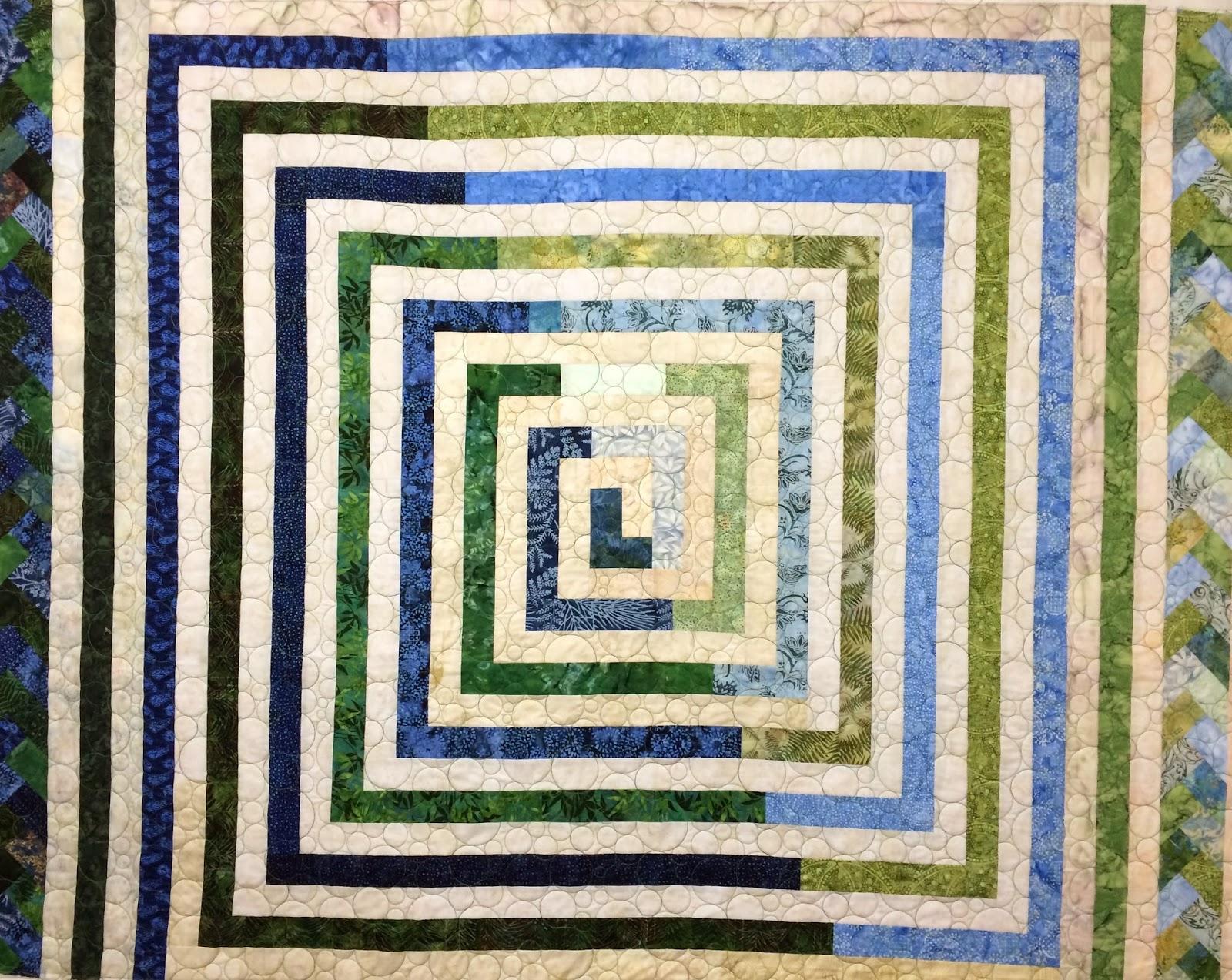 Peggy Krebs Thin Square Quilt