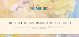 SOLE GIMENEZ: NUEVO / new SINGLE