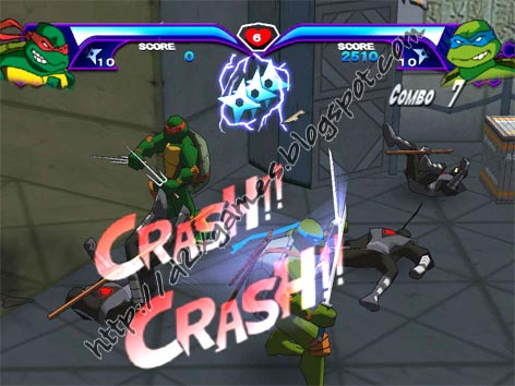 Free Download Games - Teenage Mutant Ninja Turtles 2003