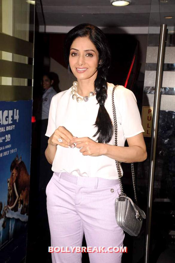 Sridevi - Sridevi at First look launch of &#39;English Vinglish&#39;