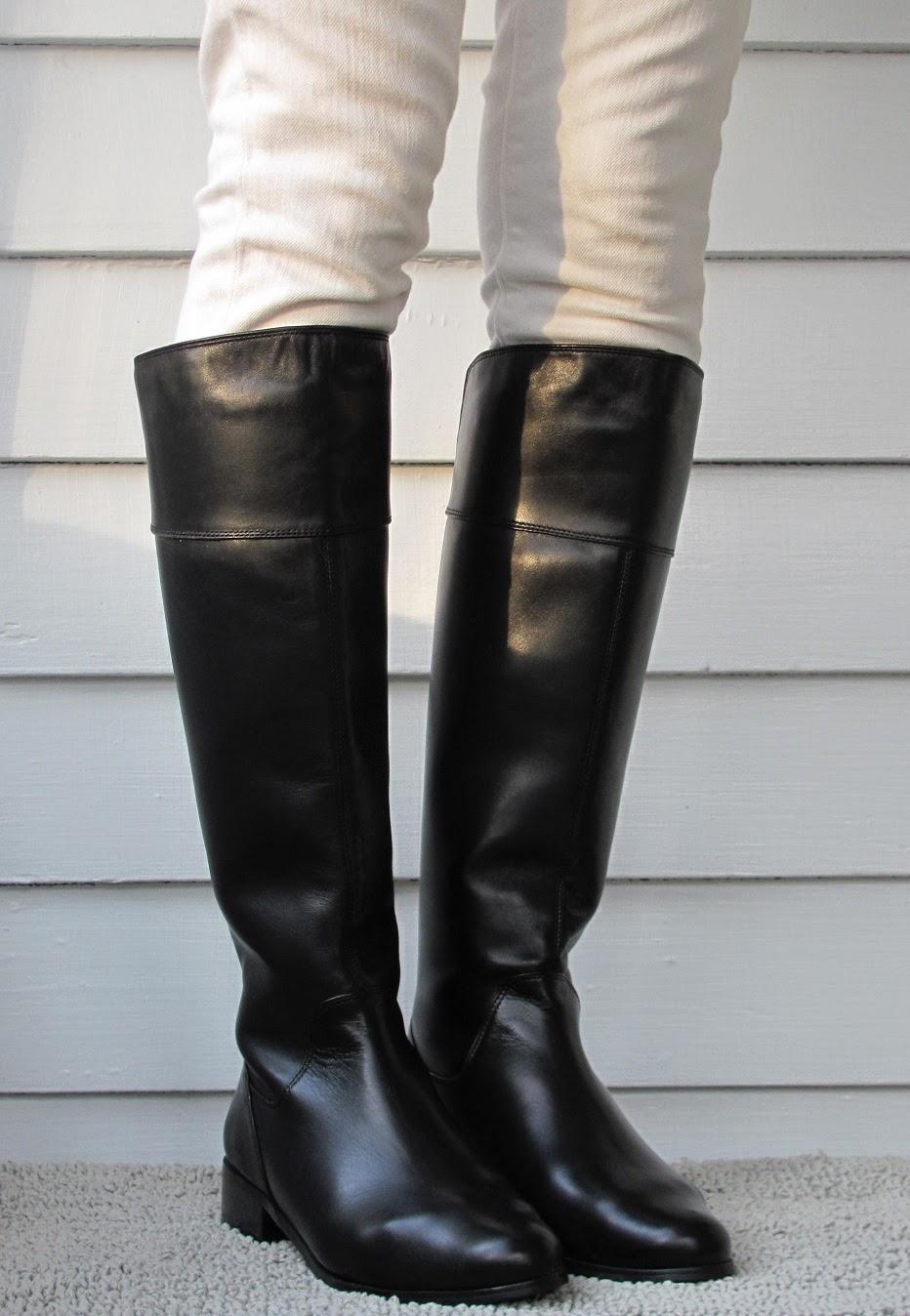 Howdy Slim! Riding Boots for Thin Calves: Vaneli Radon