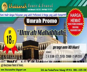 Program Umroh Khazzanah