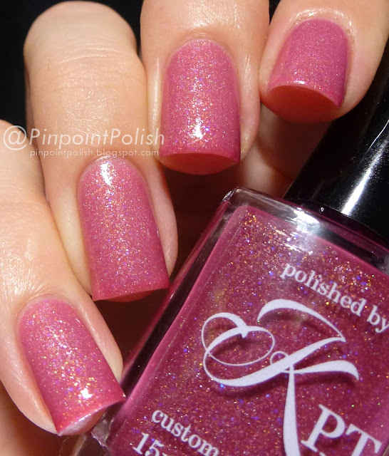Naughty & Nice, Polished by KPT, swatch