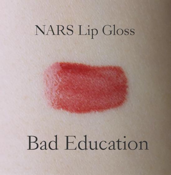 NARS Lip Gloss Bad Education swatch