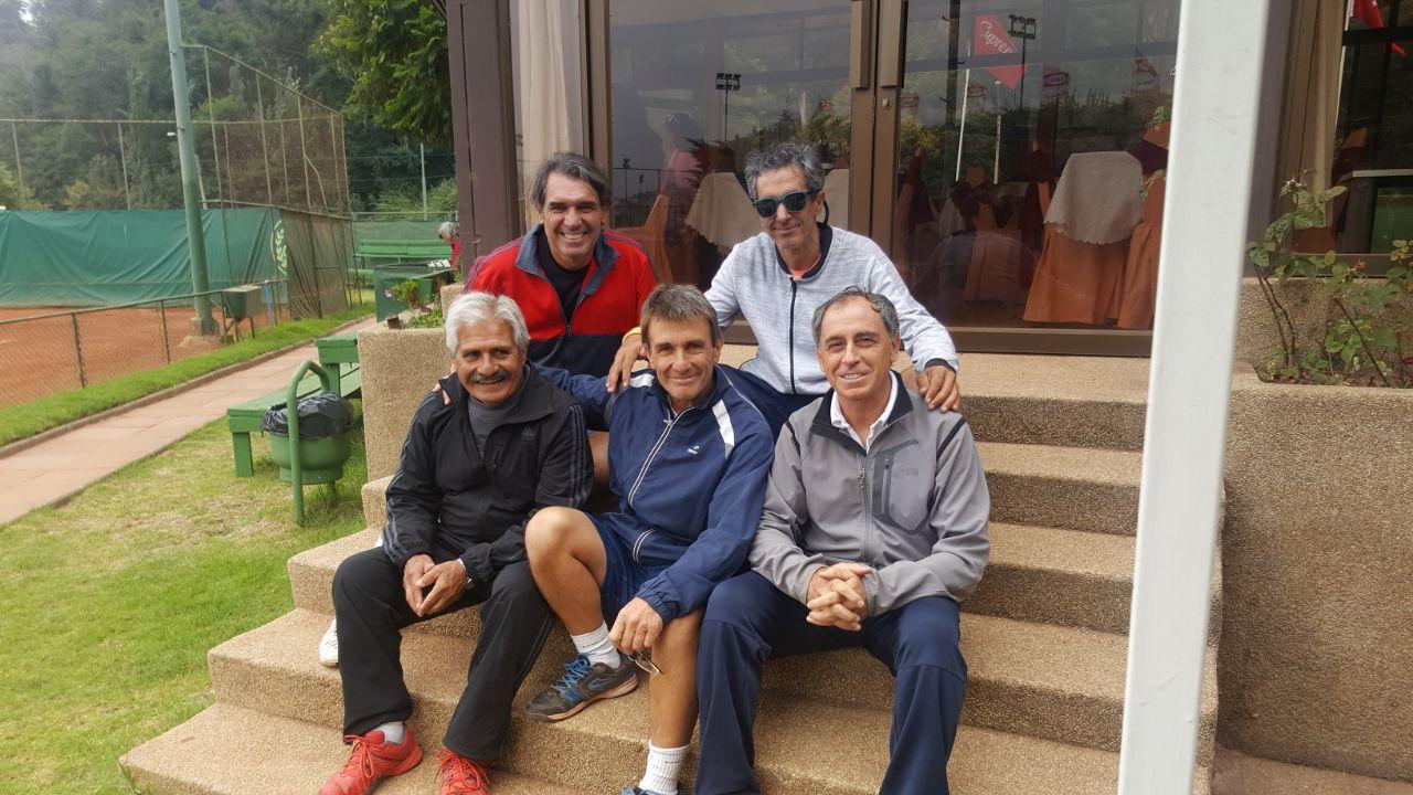 ITF SENIORS G3 VIÑA DEL MAR - CHILE - RESULTADOS MARTES
