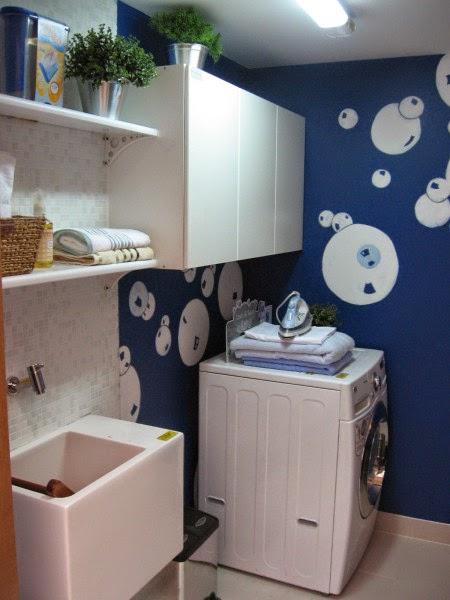 Fotos de lavander as peque as colores en casa for Muebles para lavanderia de casa