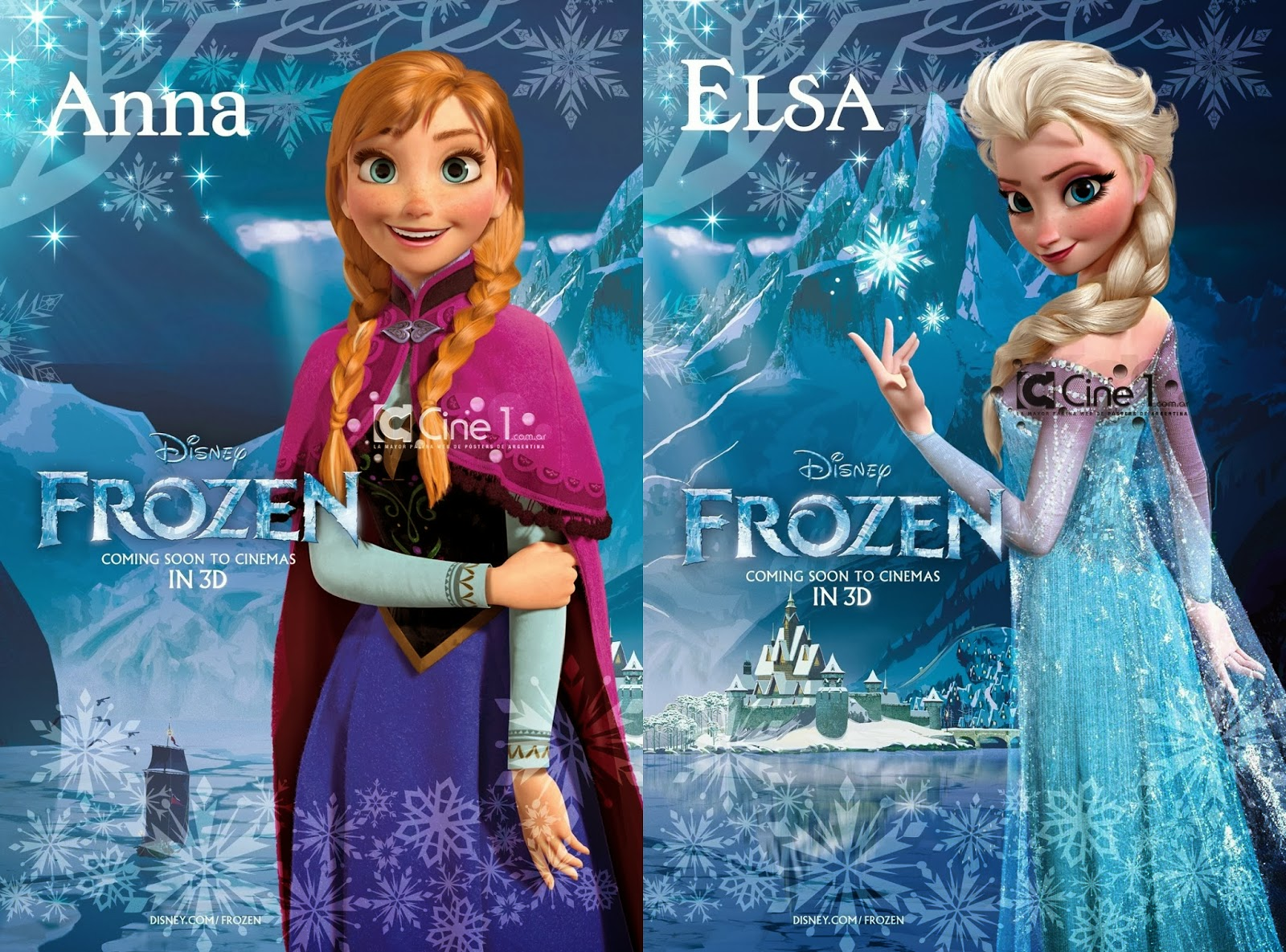 Frozen disney animated movie diary of shabrina habi syarafah - Princesse anna et elsa ...